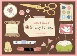 Needle and Thread Sticky Notes