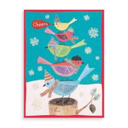 Festive Avian Friends Holiday Glitz