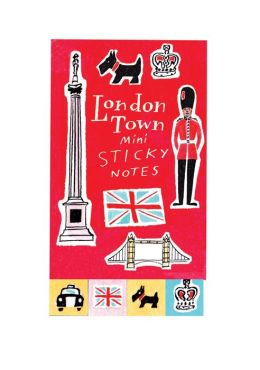 London Town Mini Sticky Notes