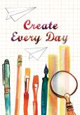 Product Image. Title: Create Every Day Pocket Journal