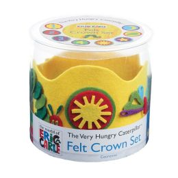 Eric Carle The Very Hungry Caterpillar Felt Crown Set