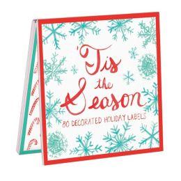 Tis The Season Holiday Labels