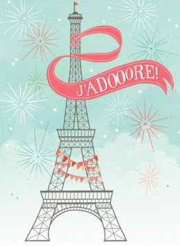 Paris Everyday Embellished Notecards