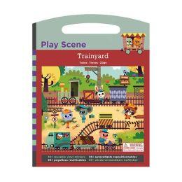 Trainyard Play Scene