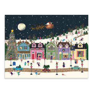 Winter Wonderland Large Embellished Notecards