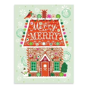 A Sweet Christmas Large Embellished Notecards