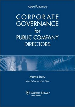 Corporate Governance For Public Company Directors