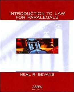 Intro To Law For Paralegals