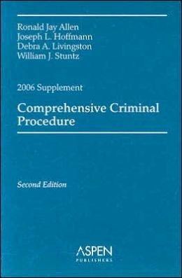 Comprehensive Criminal Procedure, 2006 Supplement