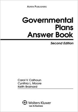 Governmental Plans Answer Book, Second Edition