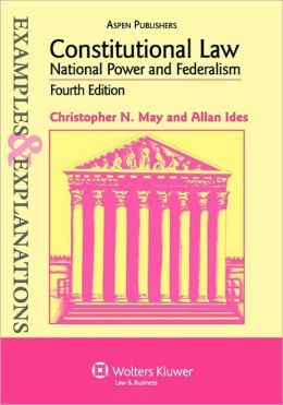 Constitutional Law, National Power And Federalism