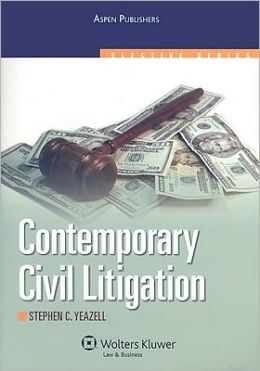 Contemporary Civil Litigation (Aspen Elective Series)