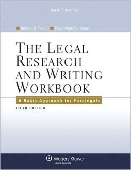 The Legal Research and Writing Workbook, Fifth Edition