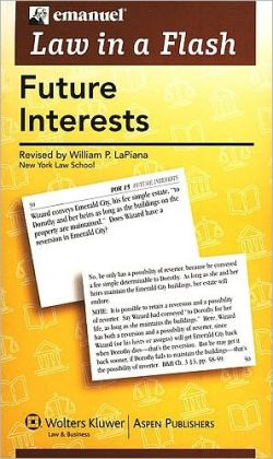 Law in a Flash Cards: Future Interests