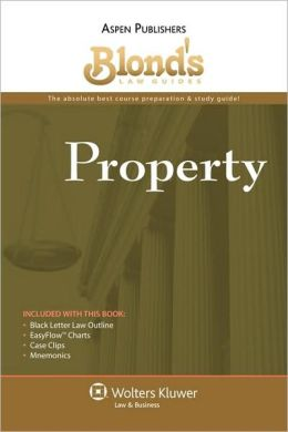 Blond's Law Guides: Property