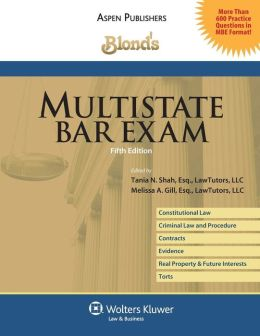 Blond's Multistate Bar Exam, 5th Ed.