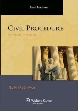 Civil Procedure, Second Edition (Aspen Student Treatise Series)
