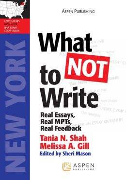 What NOT to Write: Real Essays, Real Scores, Real Feedback (Massachusetts Edition)