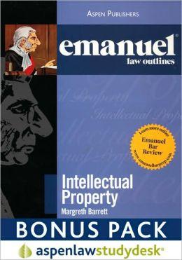 Emanuel Law Outlines: Intellectual Property (Print + eBook Digital Download Bonus Pack)