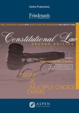 Friedman's Practice Series: Constitutional Law