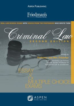 Friedman's Practice Series: Criminal Law