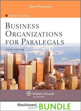 Blackboard Bundle: Business Organizations for Paralegals 5e