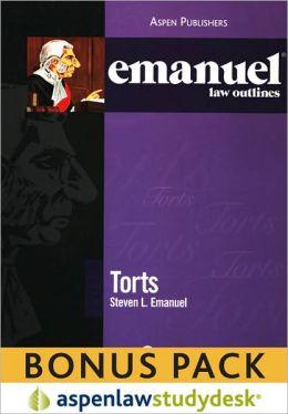 Emanuel Law Outlines: Torts (Print + eBook Bonus Pack)