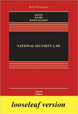 Ll: National Security Law 4e