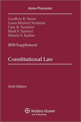 Constitutional Law, 2010 Supplement