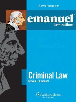 Emanuel Law Outlines