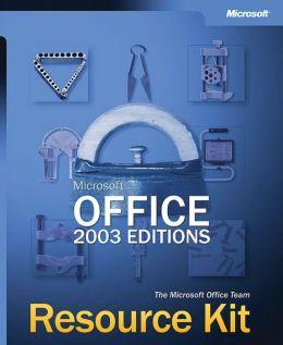Microsoft Office 2003 Editions Resource Kit