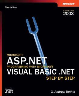 Microsoft ASP.NET Programming with Microsoft Visual Basic
