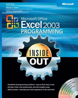 Microsoft Excel 2003 Programming inside Out