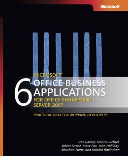 6 Microsoft Office Business Applications for Office SharePoint Server 2007