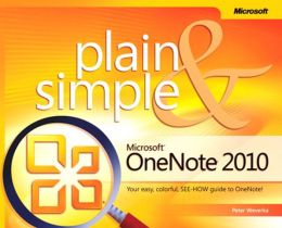 Microsoft OneNote 2010 Plain & Simple