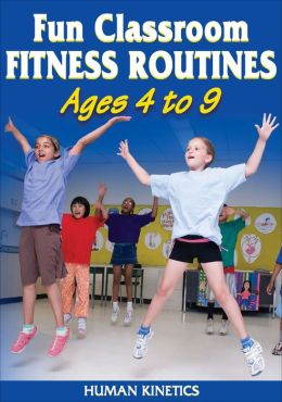 Fun Classroom Fitness Routines Ages 4-9 DVD