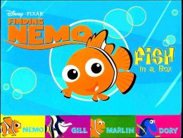 Fish in a Box, Dory, Marlin, Gill and Nemo (Disney/Pixar's Finding Nemo)