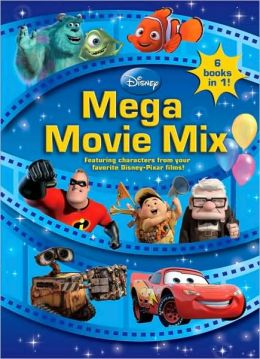 Disney Pixar Mega Movie Mix