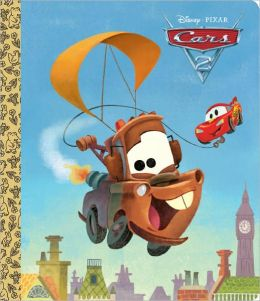Cars 2 Big Golden Board Book (Disney/Pixar Cars 2)
