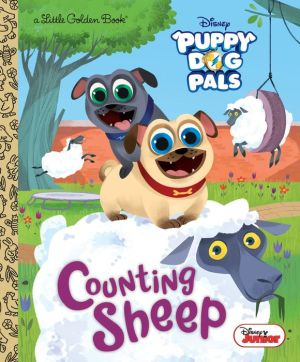 Book Counting Sheep (Disney Junior Puppy Dog Pals)
