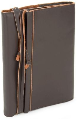 Brown Leather Wrap Traveler's Journal
