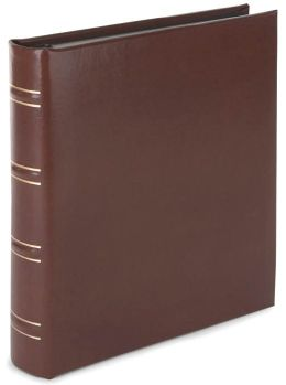 Tan Bonded Leather Photo Album