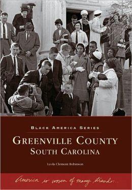 Greenville County, South Carolina (Black America Series)