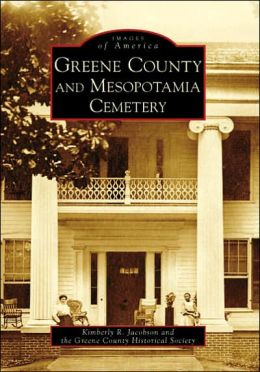 Greene County and Mesopotamia Cemetery, Alabama (Images of America Series)