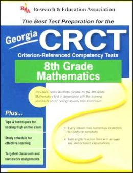 Georgia CRCT-Criterion-Referenced Competency Tests 8th Grade Mathematics