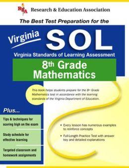 Virginia Standards of Learning Assessment 8th Grade Mathematics