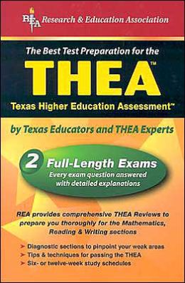 THEA (REA) - The Best Test Prep for the Texas Higher Education Assessment