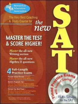 New SAT with CD-ROM