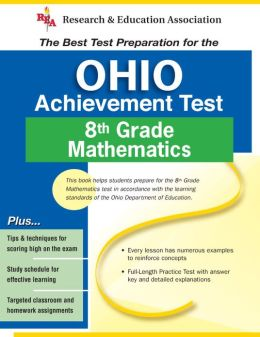 OAT Ohio 8th Grade Mathematics Achievement Test (REA) - the Best Test Prep for the 8th Grade Math