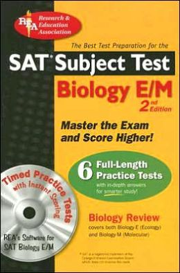 SAT Subject Test: Biology E/M w/CD-ROM (REA) -- The Best Test Prep for the SAT